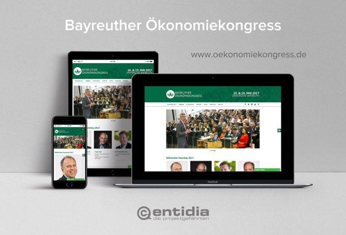Bayreuther Ökonomiekongress - Webdesign, Ticketsystem und Eventmarketing