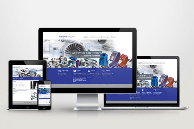 DDLfasteners - Responsive Webdesign