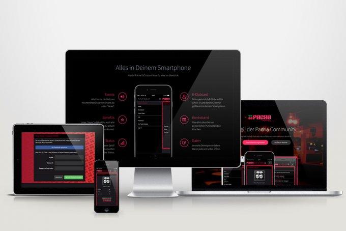 Pacha München - E-Clubcard System