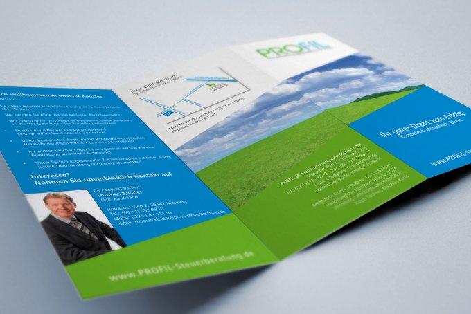 Profil Steuerberatung, Nürnberg - Komplett Betreuung Print & Online