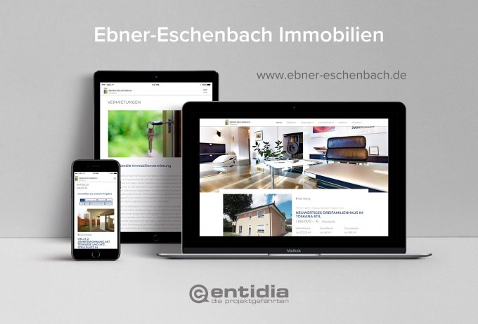 Ebner Eschenbach Immobilien - Webdesign & Website Relaunch.