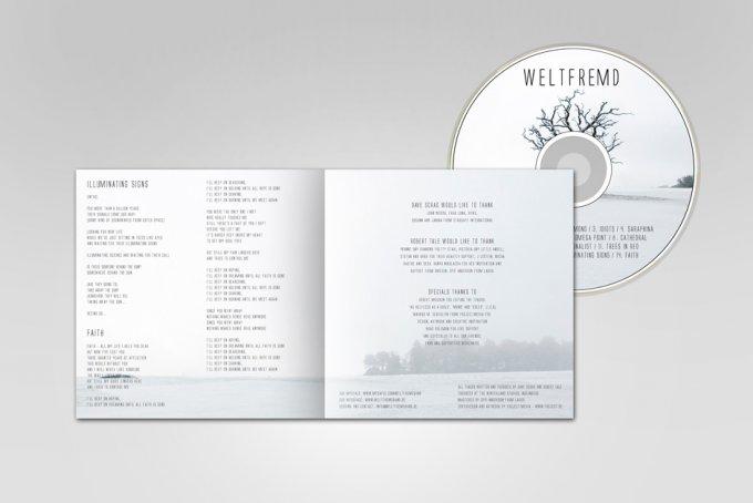 Weltfremd (Band) - CD-Artwork und Design